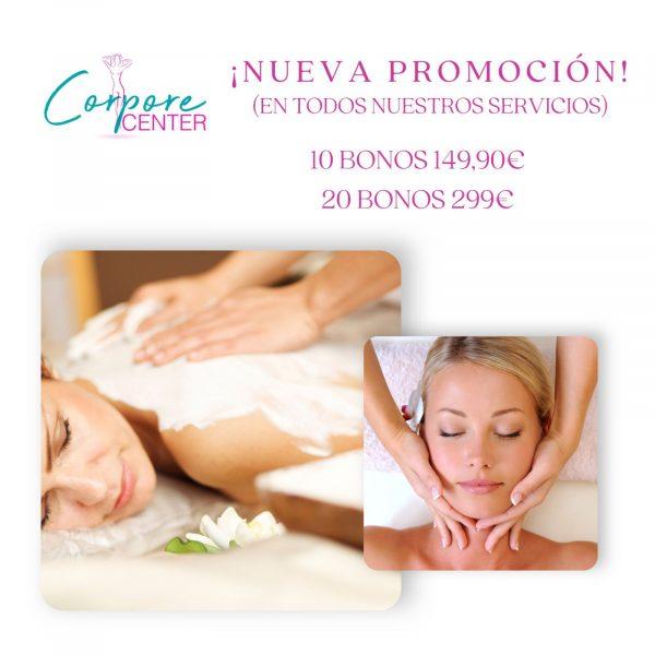 bono y promociones en masajes